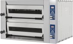 Hendi Piec Do Pizzy 2Komorowy 12X Pizza Ø 340 18 Kw 400V 1440X1010X720 Mm Sideup 66Ld (220344)