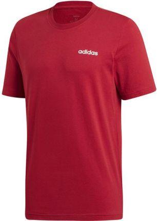 Koszulka męska Essentials 3 Stripes Adidas (czerwona