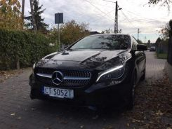 MERCEDES CLA 250 PANORAMA DACH 4X4 MATIC LED 2016