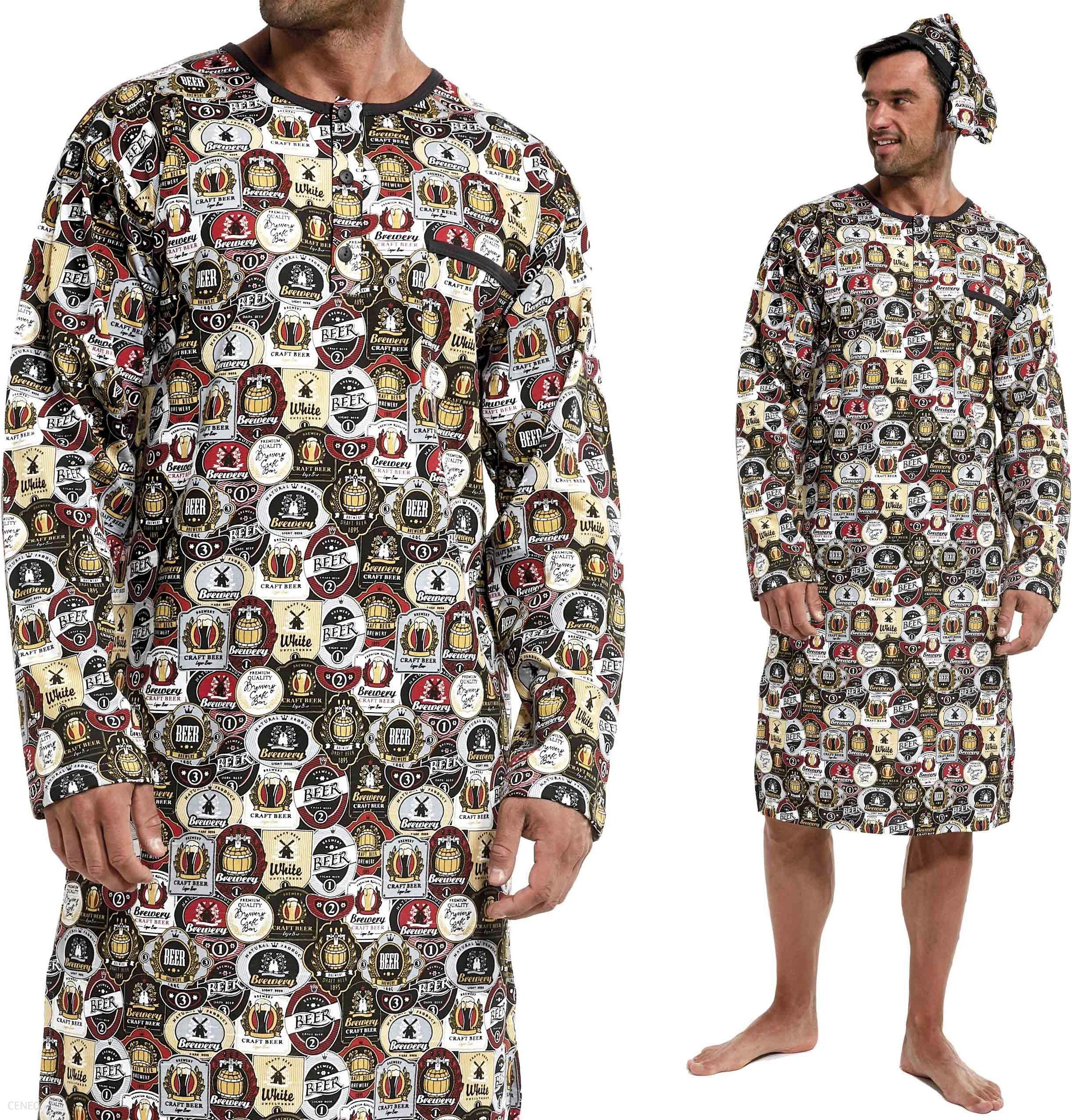 643301 110 Cornette koszula męska nocna szlafmyca  rjVYm