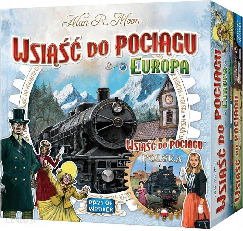 Wsiąść do Pociągu Europa + Polska Zestaw