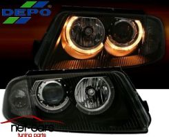 LAMPY REFLEKTORY VW PASSAT B5 FL 3BG ANGEL EYES B DP0388