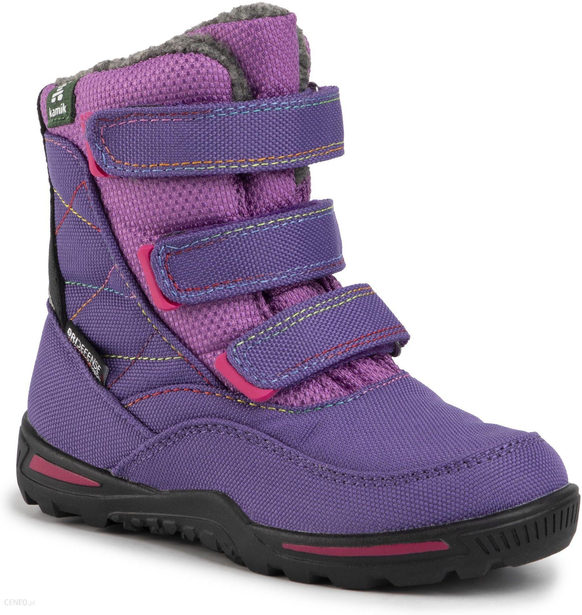 Sniegowce Kamik Hayden Nf4118 Purple Ceny I Opinie Ceneo Pl