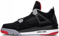 Buty Nike Air Jordan 4 Retro Bred 308497 089 R.43 Ceny i opinie Ceneo.pl