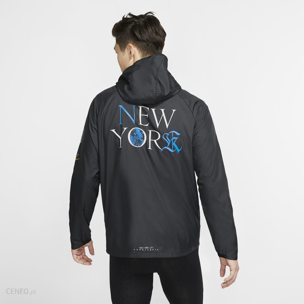 NIKE ESSENTIAL JACKET NYC M CZARNA (CQ7827 010)