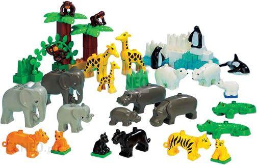 Klocki Lego Duplo Dzikie Zwierzęta 9210 Ceny I Opinie Ceneopl