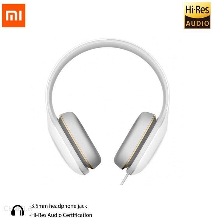 Aliexpress Oryginalny Xiaomi Mi Słuchawki łatwe Wersja Zestaw Słuchawkowy Komfort łatwośą Słuchawki Dla Xiaomi Ceneo Pl