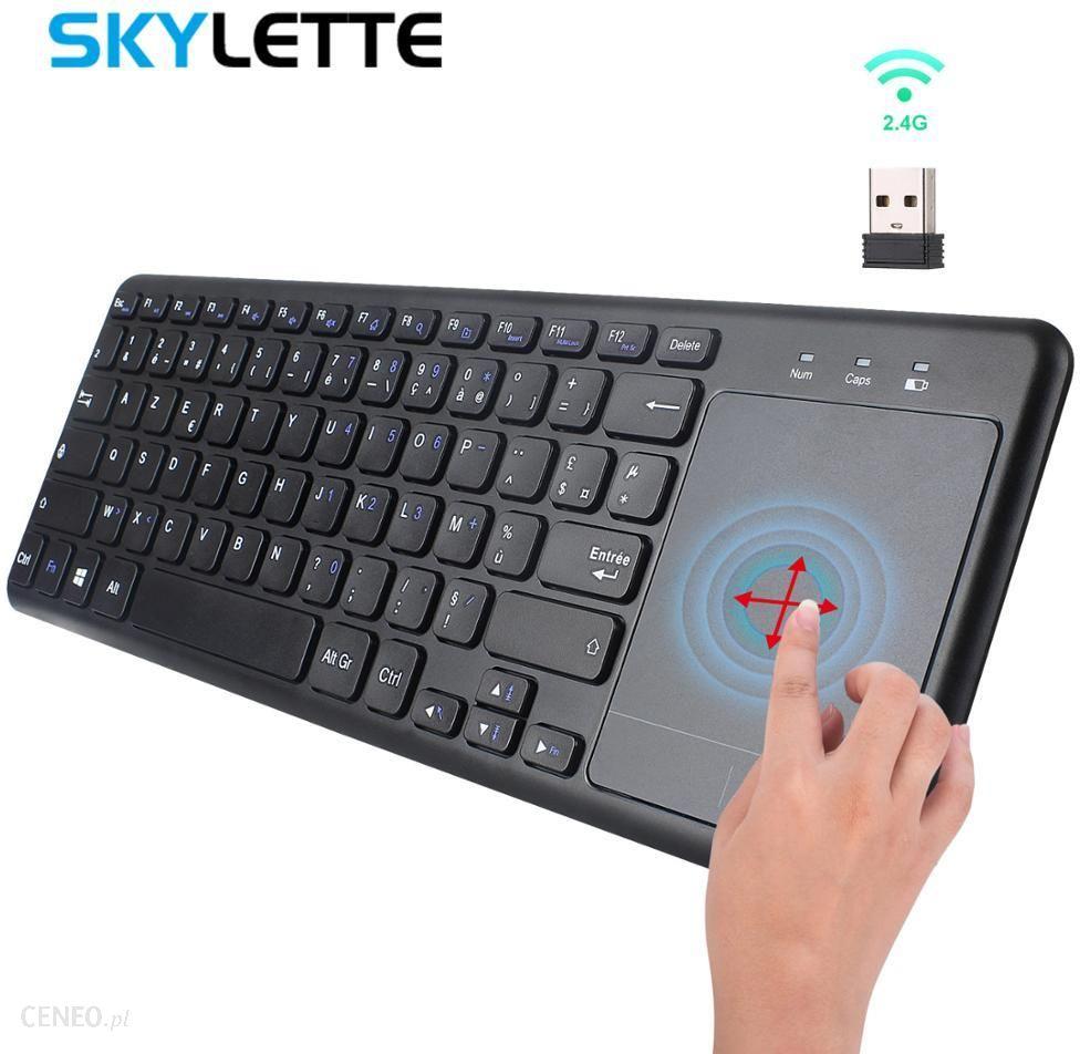AliExpress USB 2.4G bezprzewodowa klawiatura do laptopa