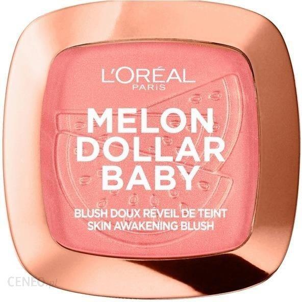 L Oreal Paris Wake Up&Glow Melon Dollar Baby róż do policzków 03 Waternelon Addict 9g