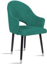 Krzesło BARI morski noga silver SO259 Krzesła Bettso Meble