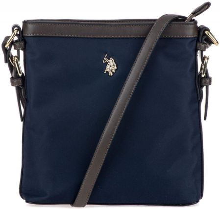 U.S. POLO ASSN. torebka crossbody Houston Crossbody w/zip on top ciemny niebieski