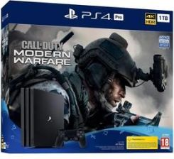 Sony PlayStation 4 Pro 1 TB + Call of Duty: Modern Warfare (PS719324300)