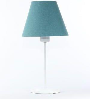 lampy do biurka stojące turkusowe