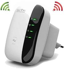 AMAZON CONHEE WZMACNIACZ SYGNAŁU WLAN RANGE EXTENDER WIRELESS ACCESS POINT WIFI BOOSTER Z PORTAMI WPS I LAN