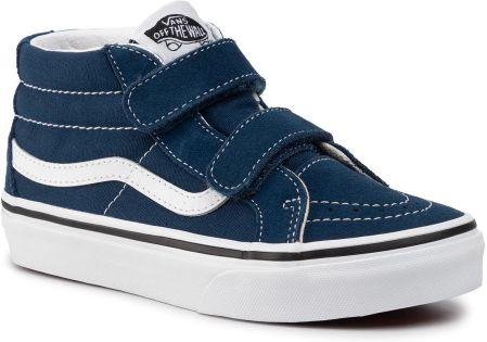 Adidas neo label buty dziecięce Hoops CMF Mid I granat