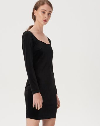 Jessica Wright Czarno biała sukienka maxi (46) Ceny i
