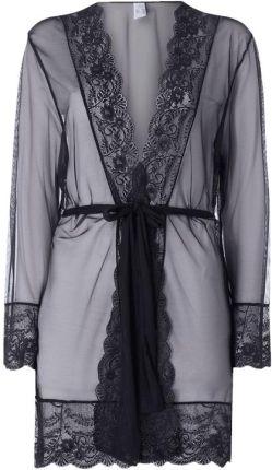 Kimono z siateczki z obszyciem koronką - Ceny i opinie Pidżamy damskie TSCE