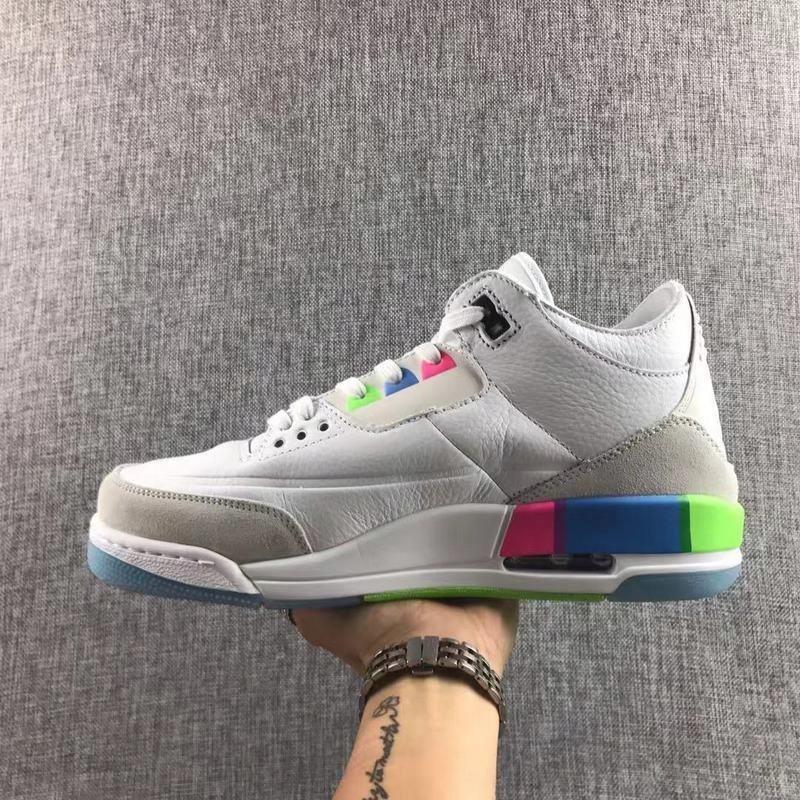 Nike Air Jordan 3 Quai 54 tęcza Colorful 43 Ceny i opinie Ceneo.pl