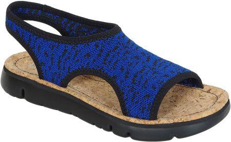 Sandały RIEKER 65660 14 Blue Ceny i opinie Ceneo.pl