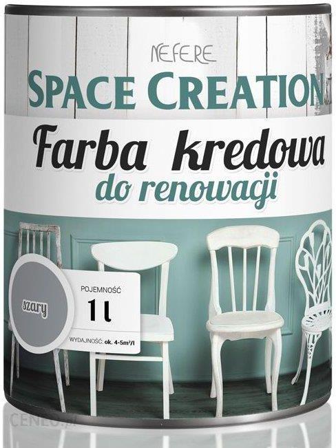 """""""Space Creation"""" baldų stiliaus kreidiniai dažai - 1 l (5906874753552)"""