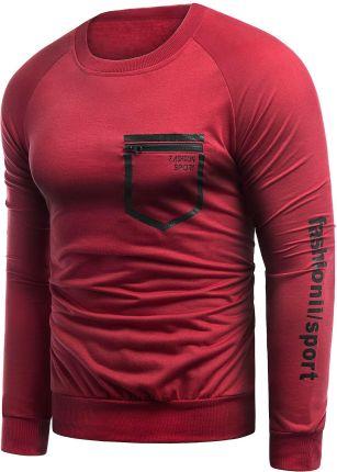 Nike bluza męska rozpinana bluzka czerwona okazja tanio rozmiar L