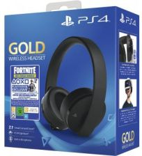 Sony PlayStation 4 Wireless Headset Gold GB+ Fortnite DLC (9959809)