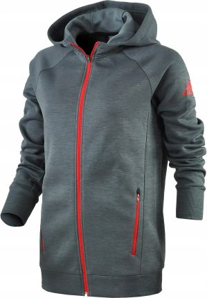 Adidas (M) Ess Lin Fzh bluza damska czerwona Ceny i opinie