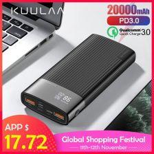 Baseus Power Bank Ladowarka Indukcyjna Qc 3 0 Lcd 8276098481 Sklep Internetowy Agd Rtv Telefony Laptopy Allegro Pl