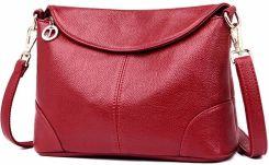 AliExpress Kobiety lśniący połysk skórzane torebki od projektantów torby na ramię wysokiej jakości damskie Ceneo.pl