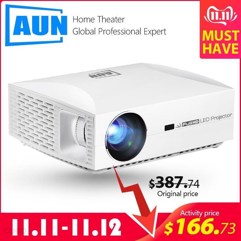 Aliexpress Aun Projektor Full Hd F30up 1920x1080 P Android 6 0 2g 16g Wifi Mini Projektor Led Do Kina Ceneo Pl