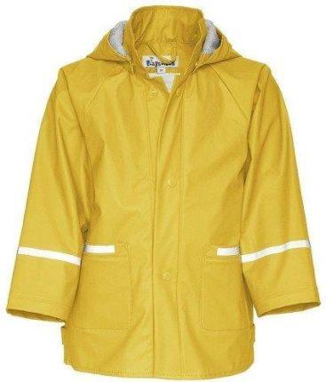 kurtka przeciwdeszczowa żółta 110