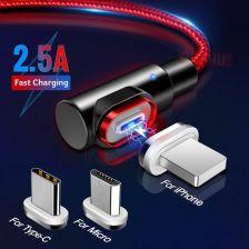AliExpress GETIHU 2.4A szybki kabel magnetyczny dla iPhone