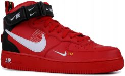 NIKE AIR FORCE 1 MID '07 LV8 RED 804609 605, r. 37