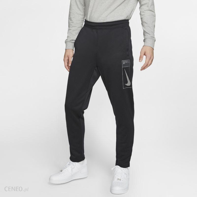 Nike Męskie spodnie z dzianiny Nike Sportswear Czerń Ceny i opinie Ceneo.pl