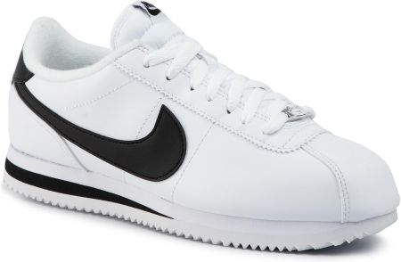 Buty NIKE - Cortez Basic Leather 819719 100 White/Black/Metallic Silver