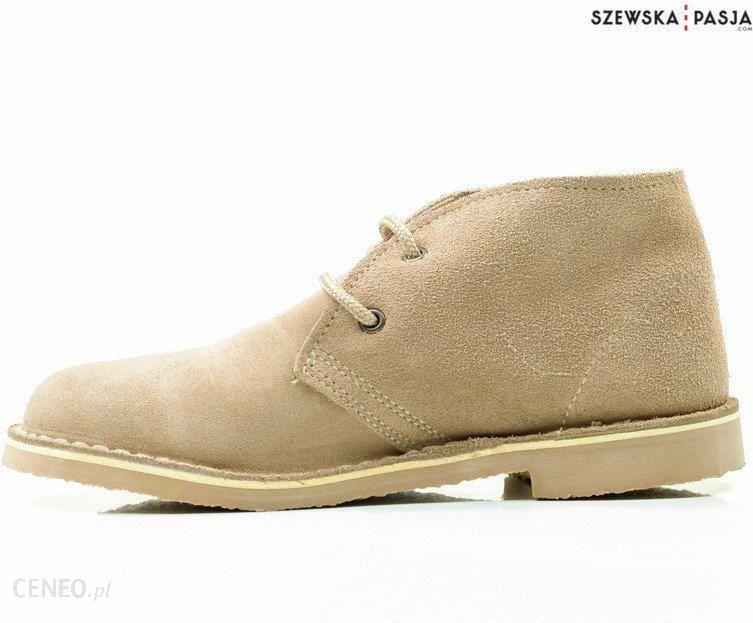 Klasyczne zamszowe buty desert damskie, botki | | Solier