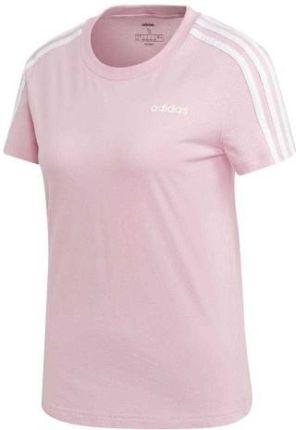 Koszulka damska adidas 3 stripes tee biało czarna ed7483