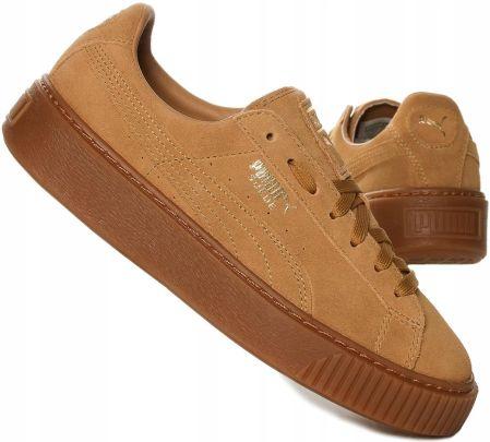 Buty Sportowe Puma Suede Jr 355110 03 Czerwone Ceny i