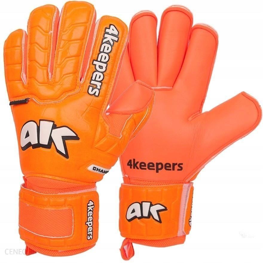 4Keepers Rękawice Bramkarskie Champ Colour Orange Iv Rf Junior S605082