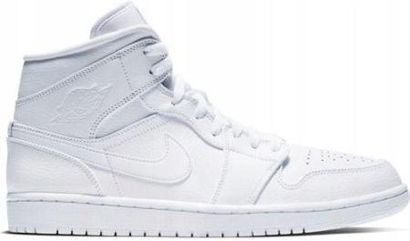 Jordan Buty męskie Air Jordan 1 Mid białe r. 45 (554724 104