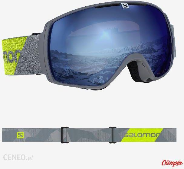 Gogle narciarskie Salomon XT One Sigma Grey Neon 2020