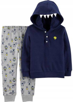 Bluza spodnie KOMPLET dres dziecięcy ADIDAS D87571 Ceny i opinie Ceneo.pl