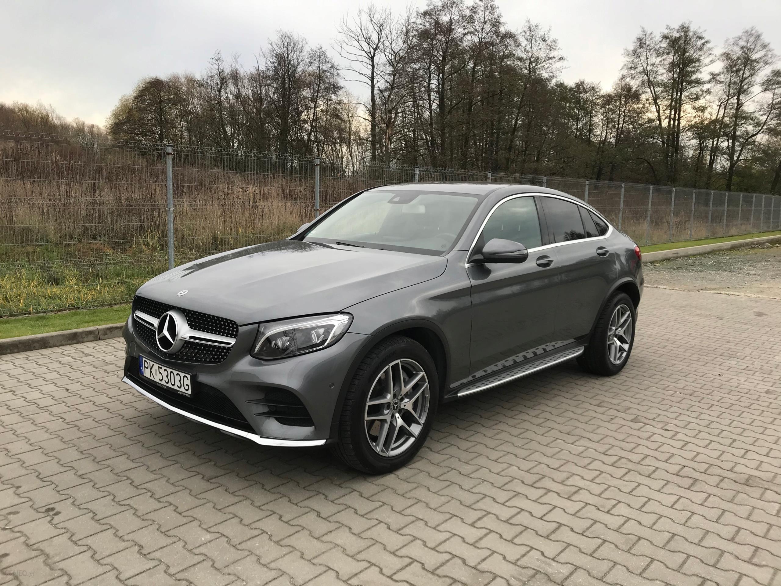 mercedesbenz glc coupe jak nowy gwarancja do 2021