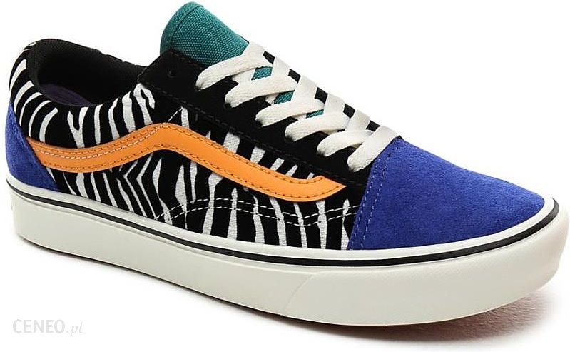 buty Vans ComfyCush Old Skool ZebraTidepoolSurf The Web 39