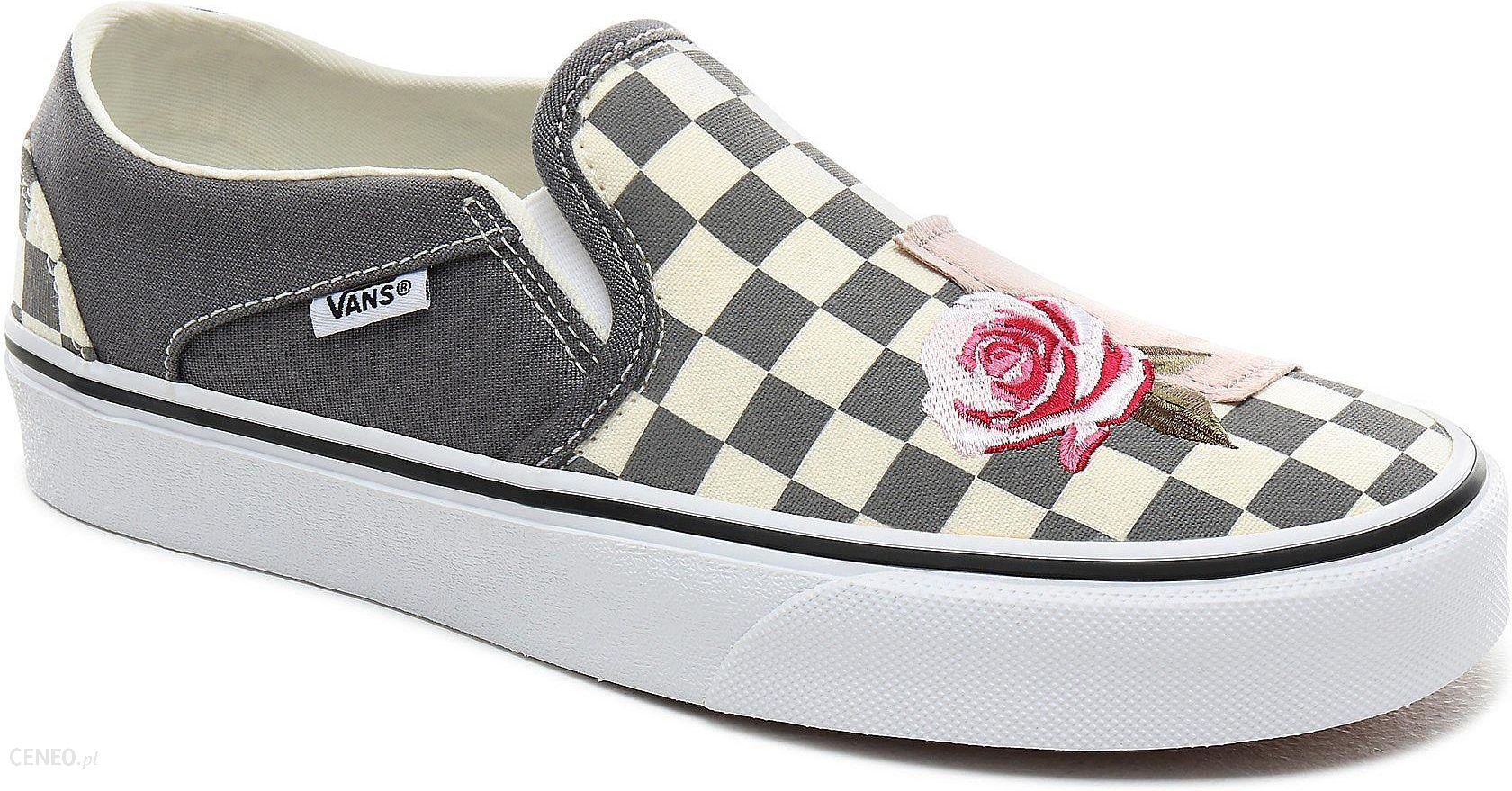 Buty Vans Asher PatchworkCheckerQuiet Shade 42 Ceny i opinie Ceneo.pl