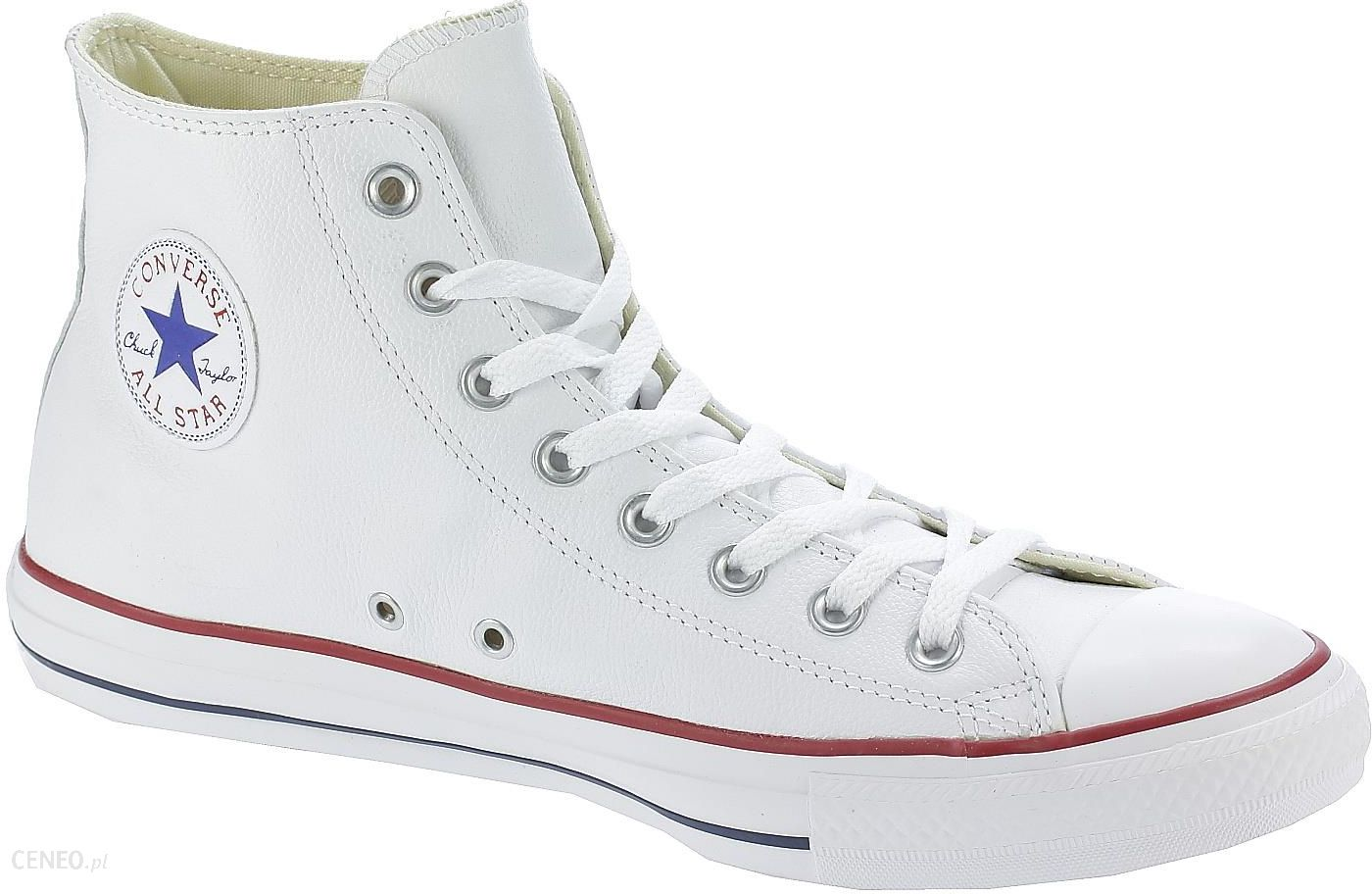 buty Converse Chuck Taylor All Star Leather Hi 132169White 37.5