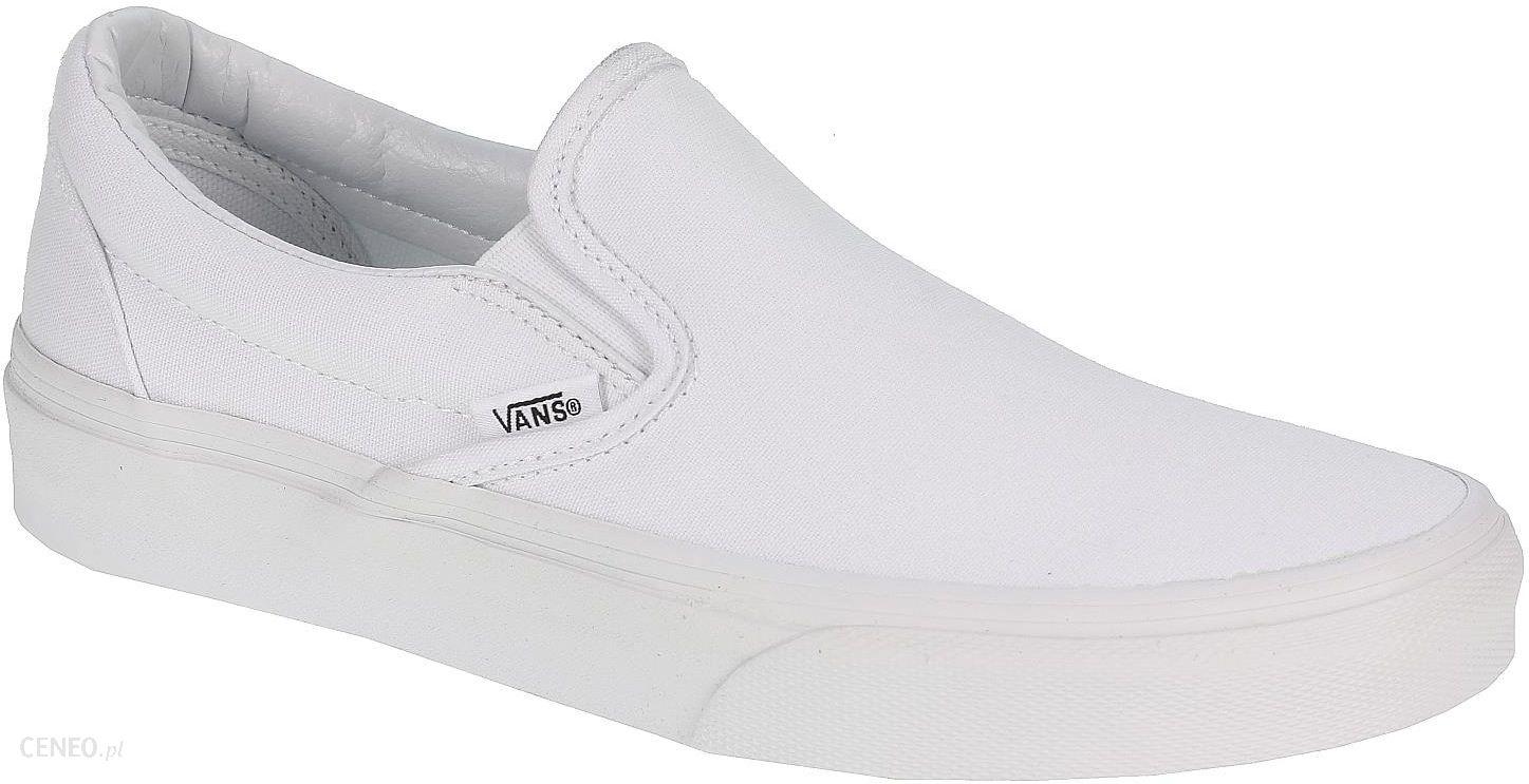 Buty Vans Classic Slip On True White 36 Ceny i opinie Ceneo.pl