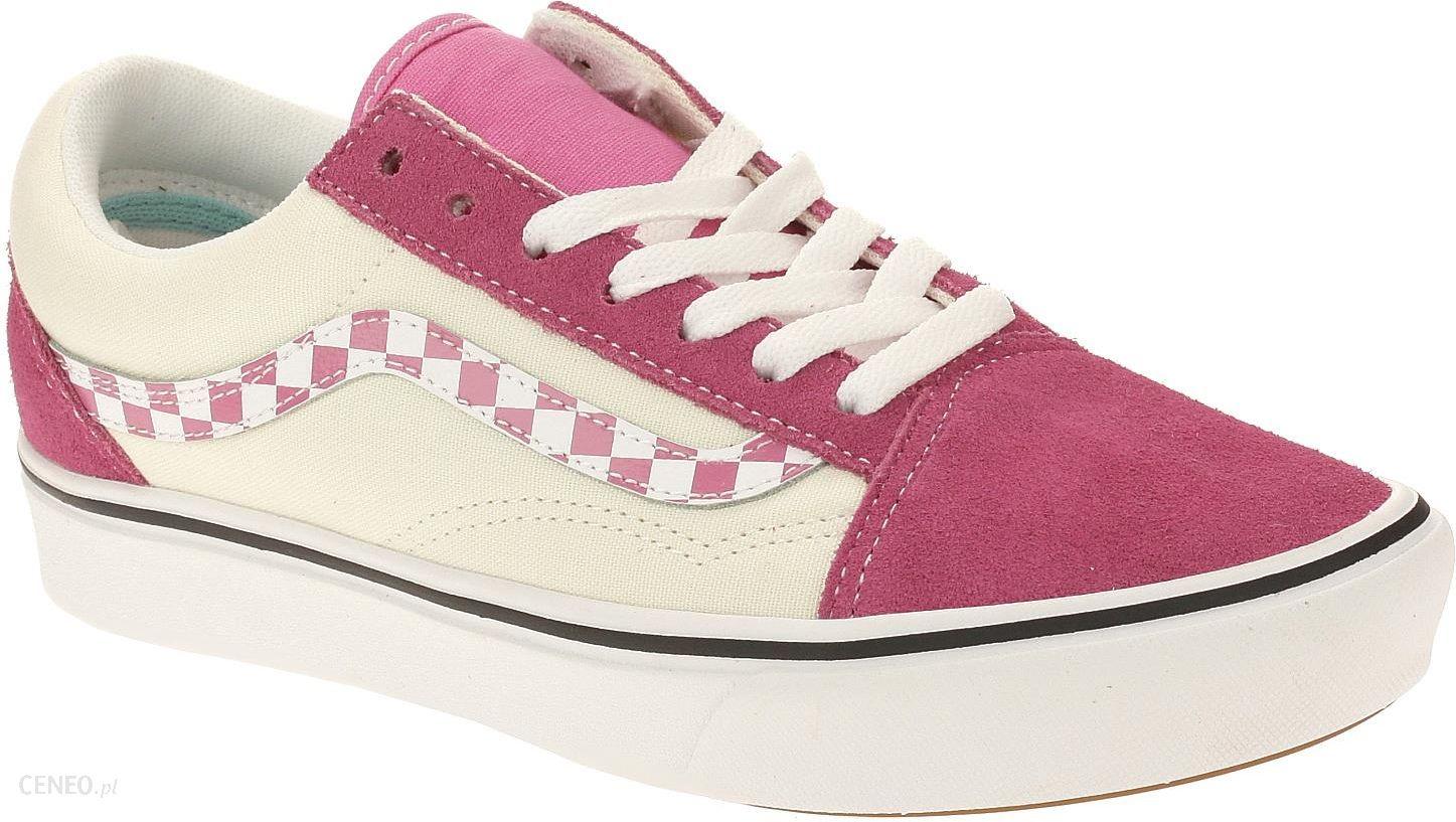 Vans Womens Sidestripe Check Comfycush Old Skool Sneakers
