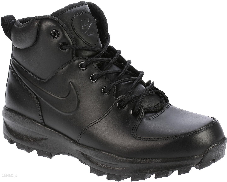 Buty Nike Manoa Leather BlackBlackBlack 41 Ceny i opinie Ceneo.pl