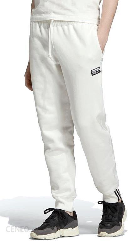 Spodnie Dresowe Adidas Orginals R.Y.V Sweatp Białe